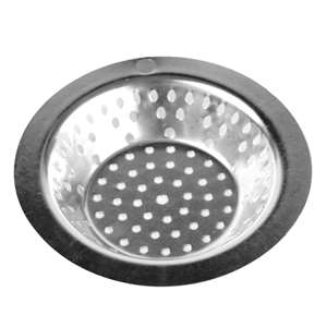 "Thunder Group 3 1 / 2""  Stainless Steel Sink Strainer, 72 Each, THUND-SLSN335"