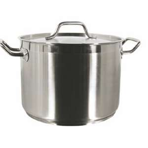 Thunder Group 12 Qt 18 / 8 Stainless Stock Pot With Lid, 1 Each, THUND-SLSPS012