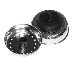 "Thunder Group 3"" Sink Strainer With 2 1 / 2"" Stopper, 12 Each, THUND-SLSTR30"