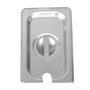 Thunder Group Quarter Size Slotted Cover For Steam Pans, 12 Each, THUND-STPA7140CS