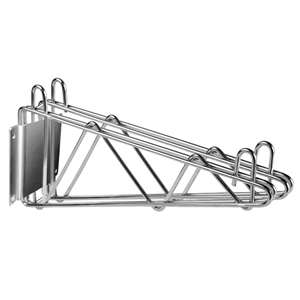 Thunder Group WBSV214 Wire Shelving Double Wall Bracket