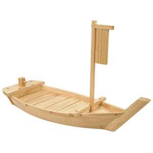 "Thunder Group 76 cm Wood Boat, 30"", 1 Each, THUND-WOBOAT76"
