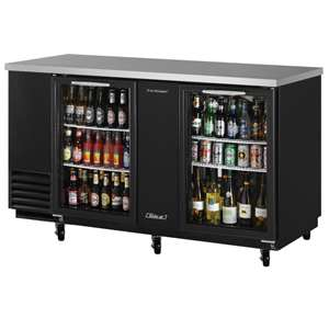 TURBO AIR TBB-3SG Back Bar Cooler