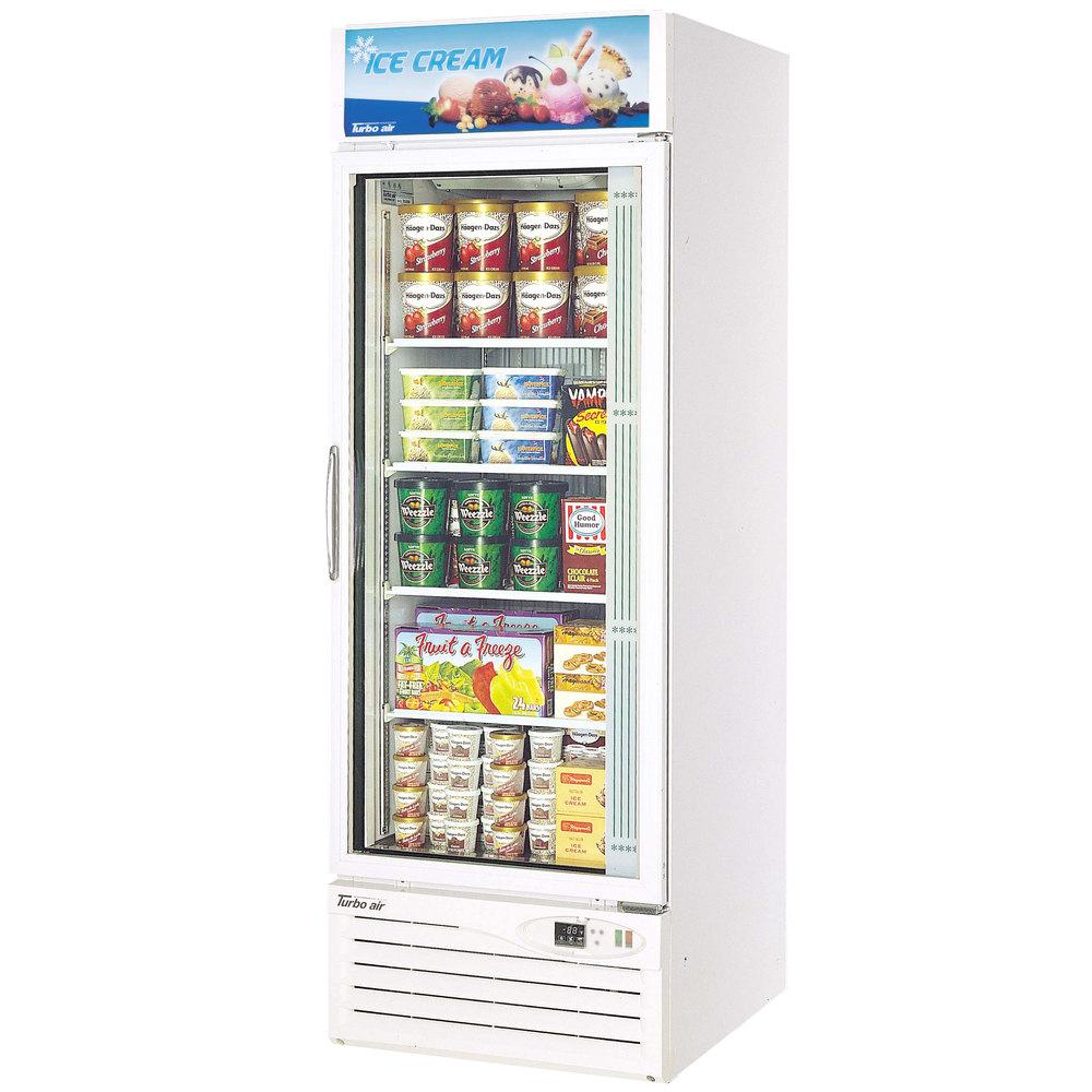 Turbo Air Glass Door Freezer Merchandiser Tgf 23f Kitchen Of Glam