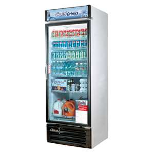 TURBO AIR TGM-22RV Glass Door Refrigerated Merchandiser