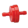 B&S In Line Fuel Filter Red