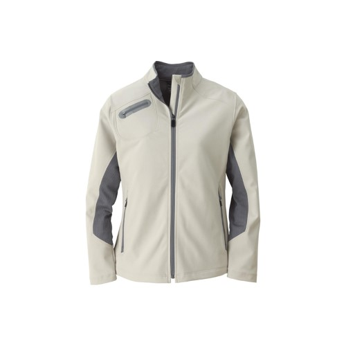 North End Men's 3 Layer Soft Shell Jacket
