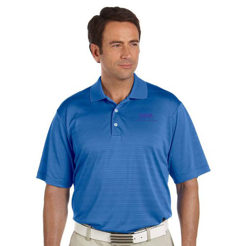 Adidas  Golf Men's ClimaLite Textured Polo