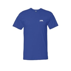 LAT Apparel Men's T-shirt - Royal Blue - Large