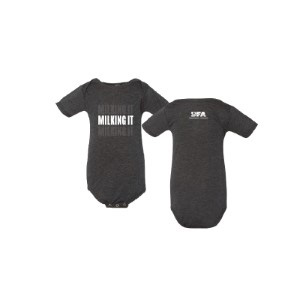 Infant Milking It Onesie