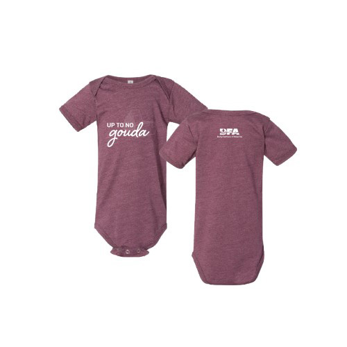 Infant Up to No Gouda Onesie
