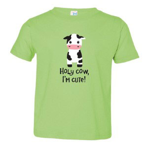 Holy Cow I'm Cute T-shirt