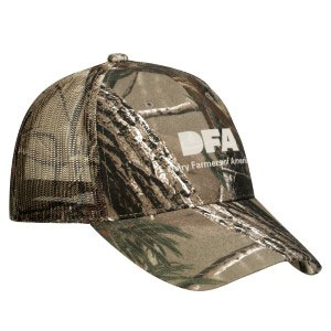 Pro Camo Hat with Mesh Back