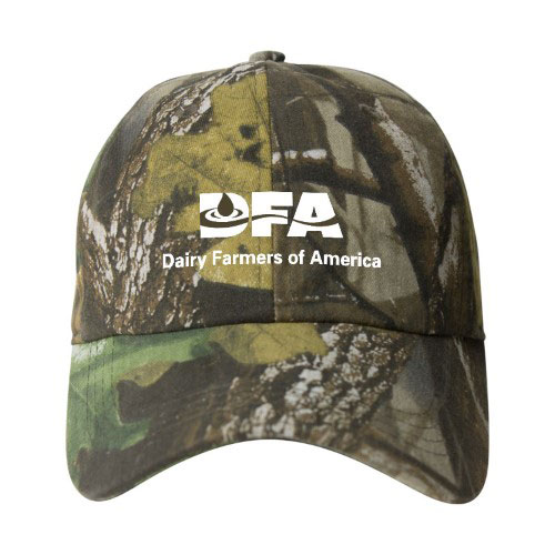 DFA AHEAD Camo Hat with Cloth Back - CamoBrown