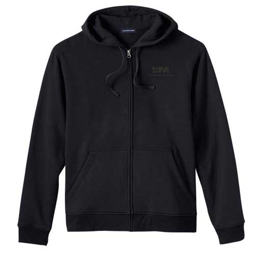 Lands' End Water Repellent Hooded Sweatshirt