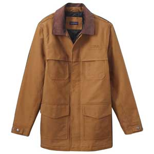 Lands' End Long Work Jacket