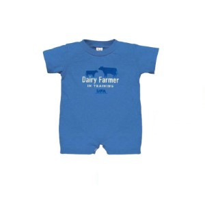 Rabbit Skins Dairy Farmer In Training Romper