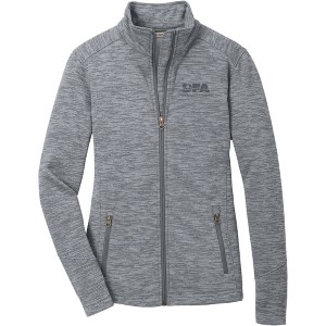 Women's Digi Stripe Fleece Jacket
