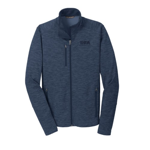 Digi Stripe Fleece Jacket
