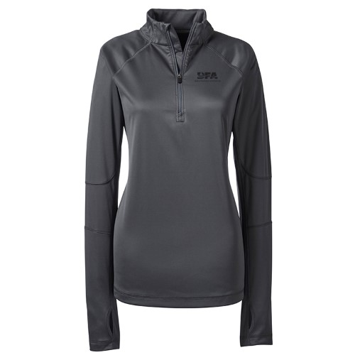 Lands' End Women's Microfiber Half Zip Pullover
