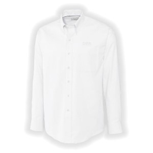 Cutter & Buck  Men's Long Sleeve Easy Care Nailshead Dress Shirt