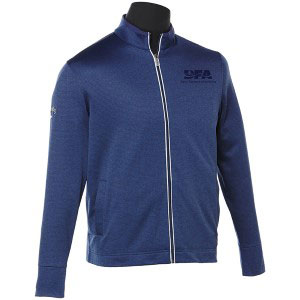 Men's Waffle Fleece Full Zip Jacket