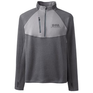 Lands' End Men's Performance Half Zip Pullover