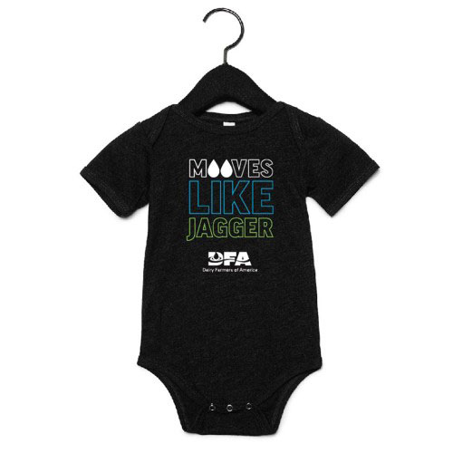 Infant's Mooves Like Jagger Onesie