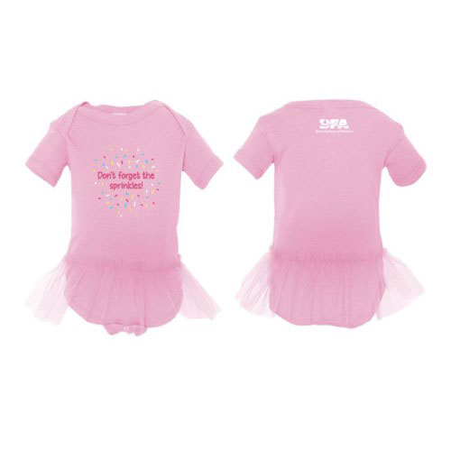 Infant's Sprinkles Tutu Onesie