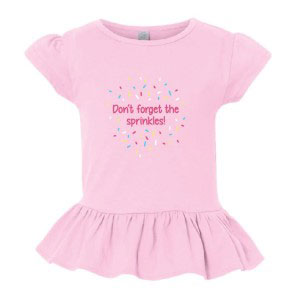 Toddler's Sprinkles T-shirt