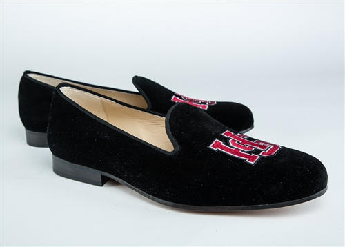 Men's HAMPDEN-SYDNEY COLLEGE Black Suede Shoe