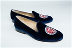 Men's University of Mississippi Blue Velvet Shoe Crest
