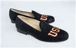 Men's University of Southern California (USC) Black Suede Shoe