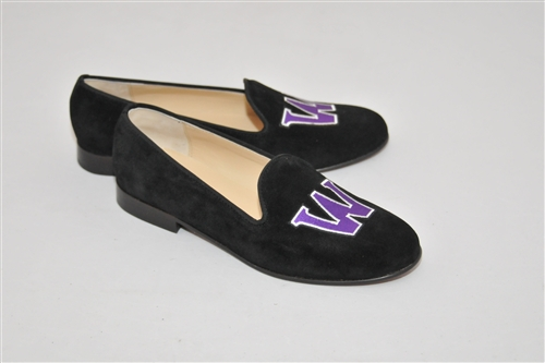 Men's WILLIAMS COLLEGE Black Suede Shoe