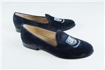 Men's YALE UNIVERSITY Crest Blue Suede Loafer
