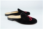 Women's ALABAMA Black Suede Mule