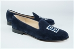 Women's BUCKNELL UNIVERSITY Blue Suede Loafer