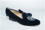 "Women's Georgetown Blue Suede ""Crest"" Loafer"