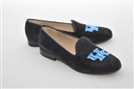 Women's UNIVERSITY OF KENTUCKY Blue Suede Loafer