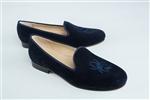 Women's UNIVERSITY OF RICHMOND Blue Suede Loafer