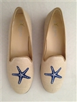 Women's Starfish Natural Linen Loafer