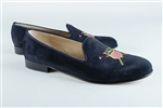 Women's US Rowing BLUE Suede Loafer