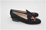Women's University of Virginia Blue Suede Loafer