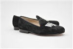 Women's Wake Forest Black Suede Loafer