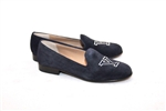 Women's YALE UNIVERSITY Blue Suede Loafer