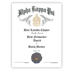 Create Your Own Certificate / Award
