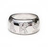 Ladies' Sterling Silver CZ Pave Ring