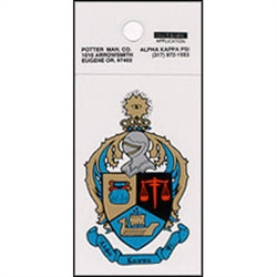 Mini Coat of Arms Decal