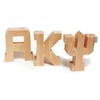 Wood Letters (Unpainted)