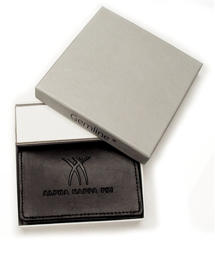 Leather business card holder reheart Image collections